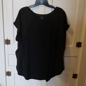 Women's black Lane Bryant blouse